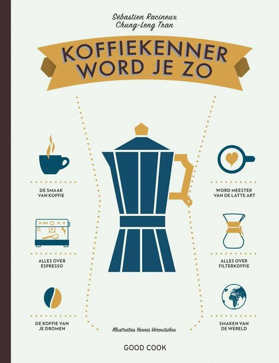 Boek cover Koffiekenner word je zo van Sébastien Racineux (Hardcover)