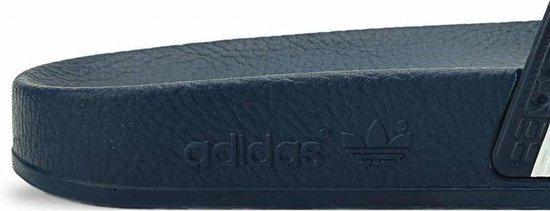 adidas Adilette Heren Slippers - Adiblue/White/Adi Blue - Maat 47