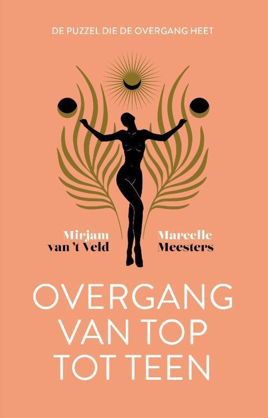 Boek cover Overgang van top tot teen van Mirjam Van T Veld (Hardcover)