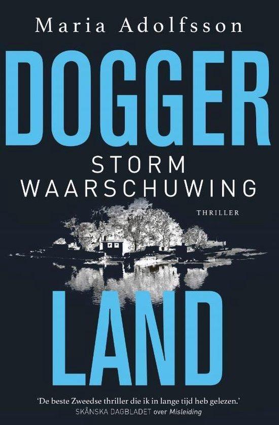 Boek cover Doggerland 2 -   Stormwaarschuwing van Maria Adolfsson (Paperback)