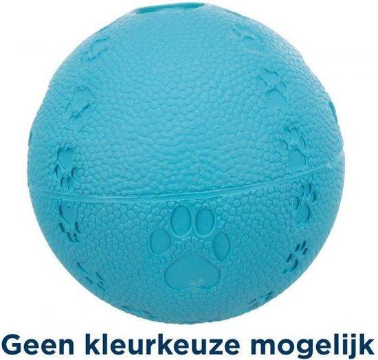 Trixie natuurrubber bal assorti 7x7x7 cm 3 st