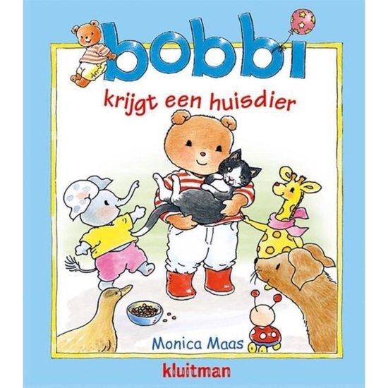 Boek cover Bobbi  -   Bobbi krijgt een huisdier van Monica Maas (Hardcover)