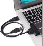 Dubbele USB 2.0-naar-SATA Hard Drive Adapter Kabel voor 2 5-inch SATA HDD / SSD