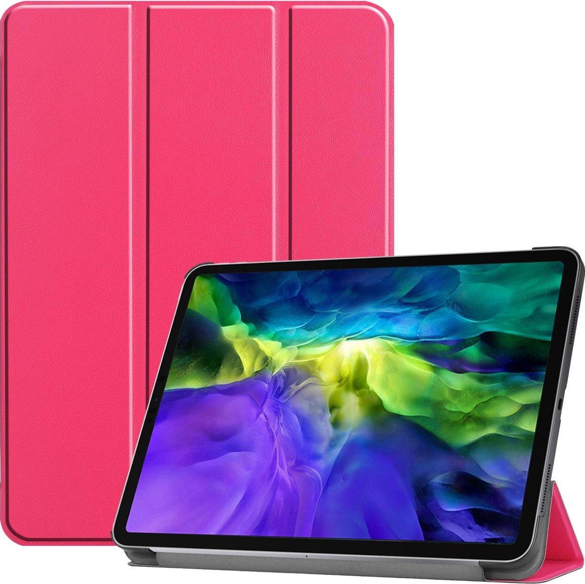 bol.com | iPad Pro 2021 Hoes (11 Inch) - Tri-Fold Book ...