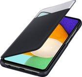 Samsung Smart S View Wallet Hoesje - Samsung Galaxy A52 - Zwart