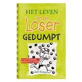 Boek cover Het leven van een loser 8 -   Gedumpt van Jeff Kinney (Hardcover)