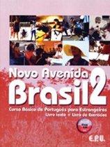 Novo Avenida Brasil 2 livro texto/de exercícios + audio-cd