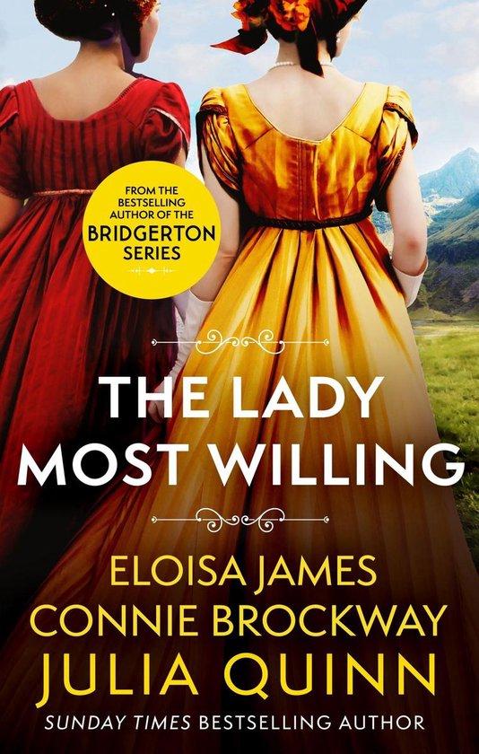 Boek cover The Lady Most Willing van Julia Quinn (Onbekend)