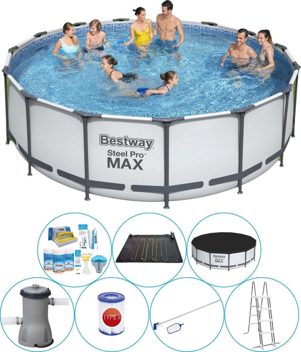 Bestway Steel Pro MAX Rond 457x122 cm - Slimme Zwembad Deal