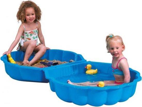 Zandbak Zand en Water Schelp - Blauw