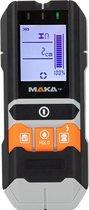 MAKA 4 in 1 Digitale multidetector - Leidingzoeker - Verlicht LCD scherm - Koper Metaal Hout en Vocht meting - Leidingdetector