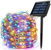 Solar tuinverlichting 50Led 6 meter - Multicolor