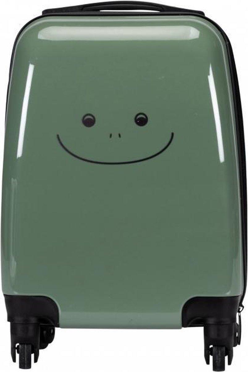 Kinderkoffer Groen 39 cm