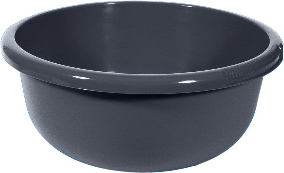 Curver Afwasbak 10,5 Liter Rond Antraciet