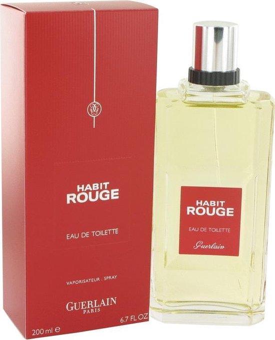 Bol Com Guerlain Habit Rouge Men 200 Ml Eau De Toilette