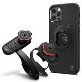 Gearlock Apple iPhone 12 / 12 Pro Hoesje voor Fietshouder Zwart