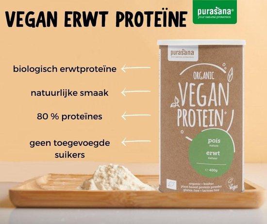 Vegan Protein Erwt - Natuurlijk (400 Gram) - Purasana
