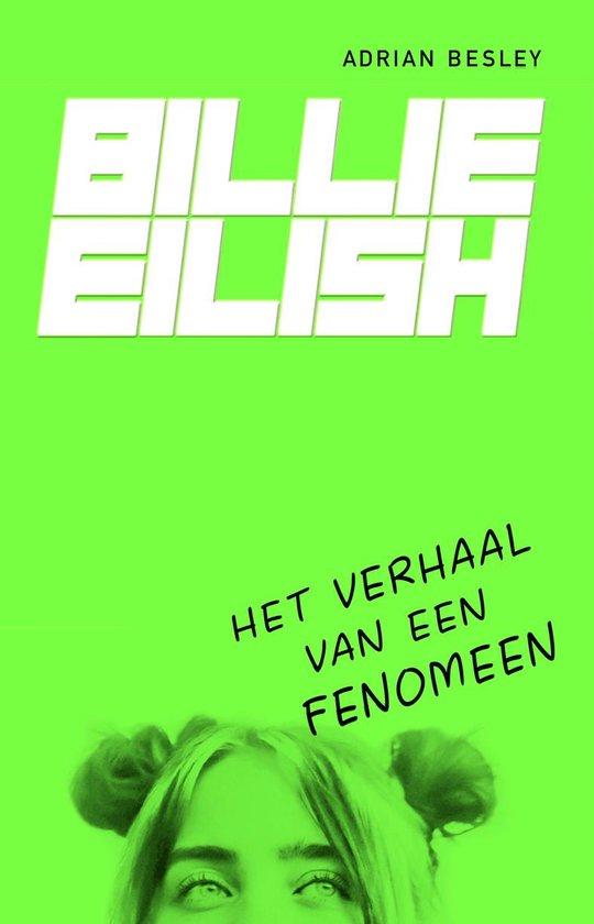 Boek cover Billie Eilish van Adrian Besley (Onbekend)