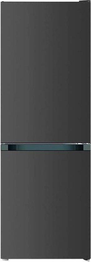 Koelkast: CHiQ FBM157L42 - Koel-vriescombinatie - 157 Liter (109 + 48) - Donker RVS - Omkeerbare deuren, van het merk chiq