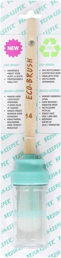 BrushKeeper, dé meest duurzame verfkwast met houder-nr 14-acryl&alkyd-een Mooi EcoKado!