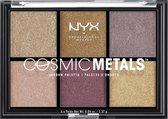 NYX Professional Makeup Cosmic Metals Shadow Palette - CMSP01 - Oogschaduw Palet - 8,22 gr