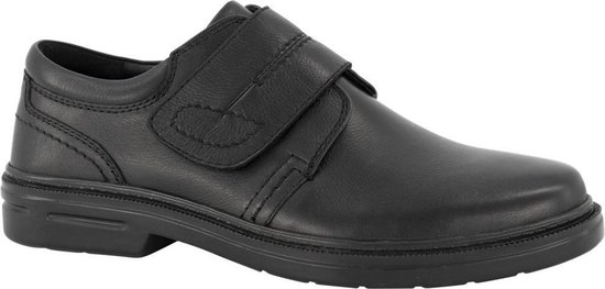 Gallus Heren Zwarte leren geklede schoen - Maat 45