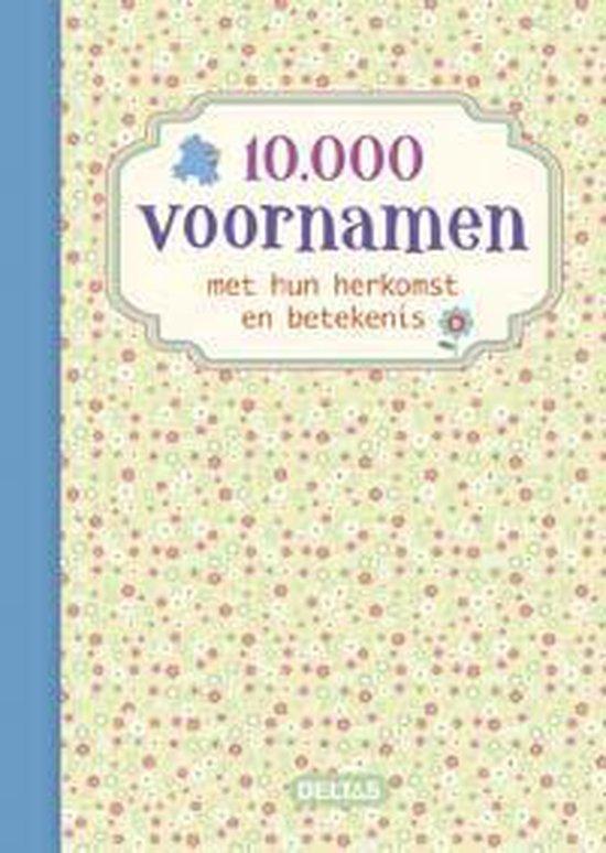 Cover van het boek '10000 voornamen'
