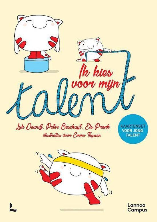 Boek cover Talentenkaartjes junior groot van Luk Dewulf (Onbekend)