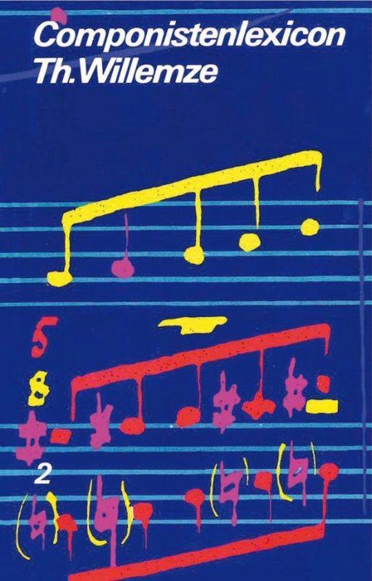 Cover van het boek 'Componistenlexicon deel 2 P-Z'