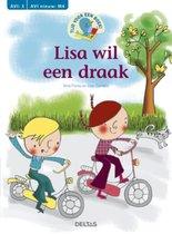 Tijd voor een boek  -   Lisa wil een draak