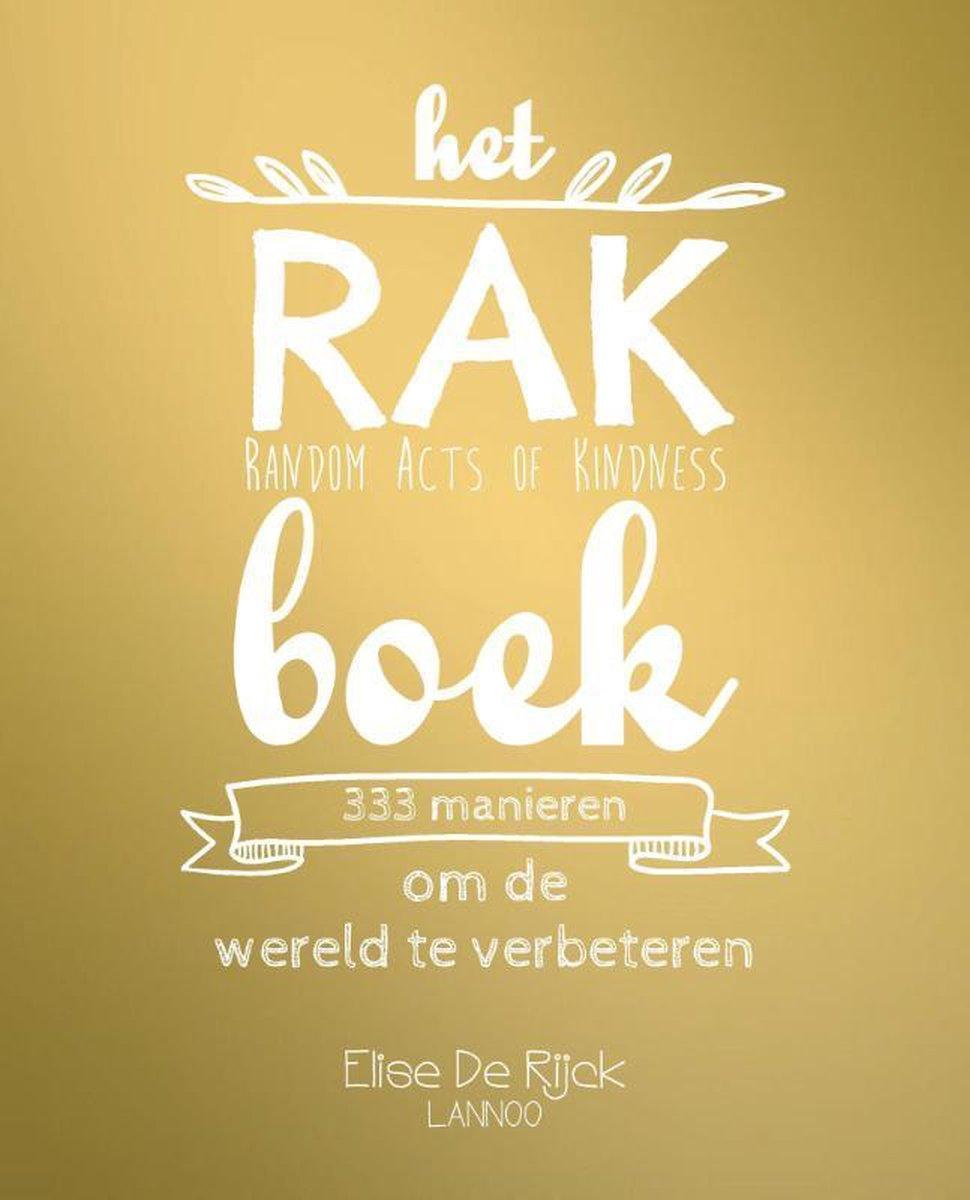 Het RAK boek - Elise de Rijck