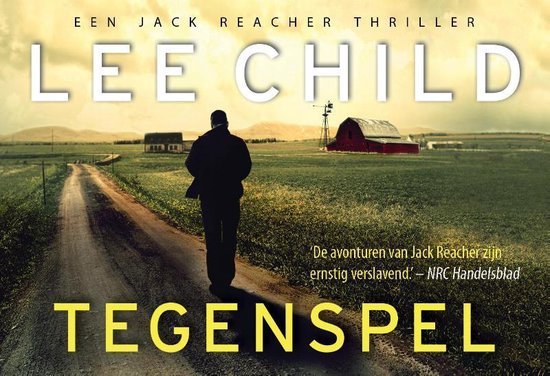 Omslag Jack Reacher  -   Tegenspel