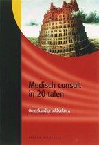 Geneeskundige zakboeken 4 -   Medisch consult in 20 talen