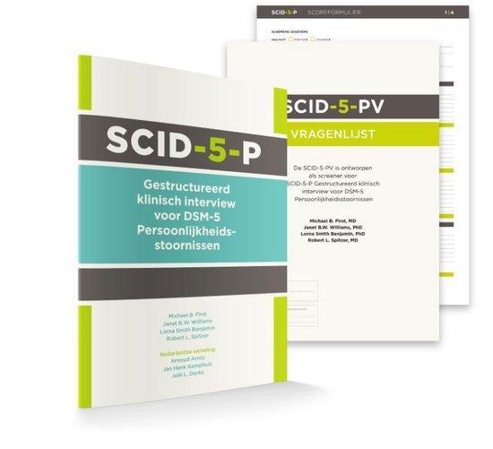 Boek cover SCID-5-P: Vragenlijst (50 ex.) van Michael B. First (Onbekend)