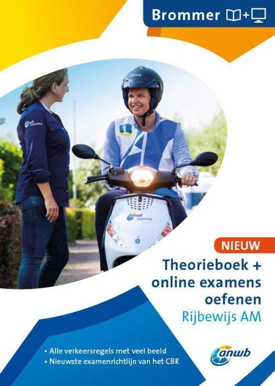 Boek cover ANWB rijopleiding  -   Theorieboek Rijbewijs AM van  (Paperback)