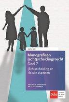 Monografieen (echt)scheidingsrecht 7 -  (Echt)scheiding en fiscale aspecten 2017