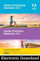 Adobe Photoshop & Premiere Elements 2021 Student/Docent Editie - Engels/Frans/Duits - Mac download