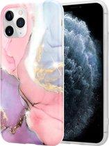 Lovely Lila Marmer iPhone 11 Pro hoesje - lila/roze