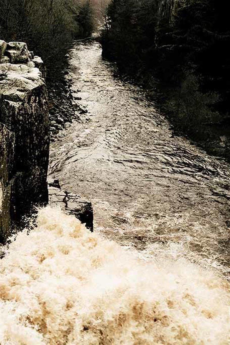 Fotokunst | Schilderij - Natuur - Wild River - 80 x 120 cm - Plexiglas of Dibond - Wanddecoratie - Xi Art