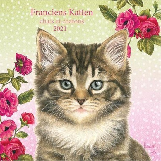 Kalender - 2021 - Franciens katten - 30x30cm