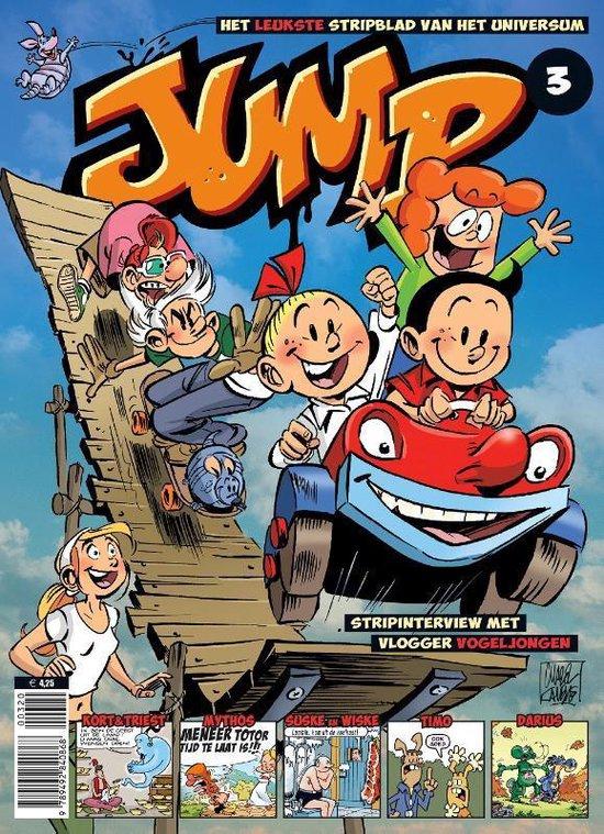 Boek cover Jump 3 van Schwantz (Paperback)