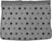 Dooky Baby Deken Grey Stars - 70x85 cm