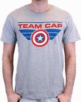 CIVIL WAR - T-Shirt TEAM CAP - Grey (S)