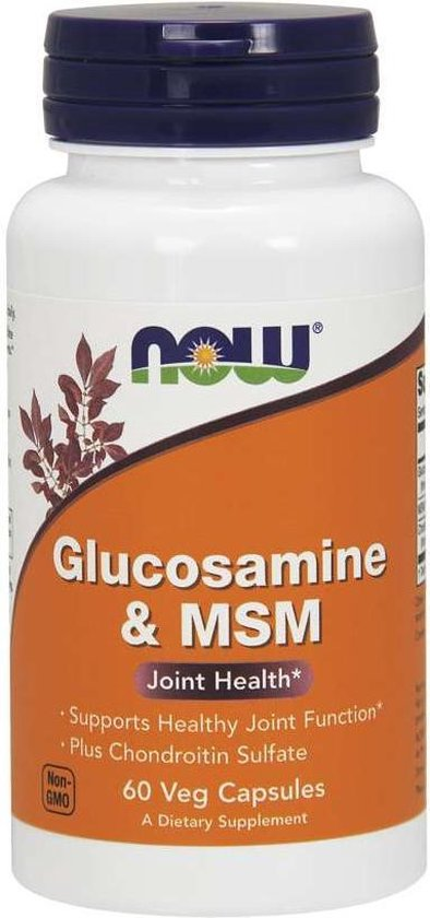 Glucosamine & MSM with Chondroitin 60v-caps