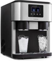 Klarstein Eiszeit Crush ijsblokjesmachine - 3-in-1: ijsklontjes, crushed ice en ijswater -  15 - 18 kg/24h - Watertank: 1,8 liter