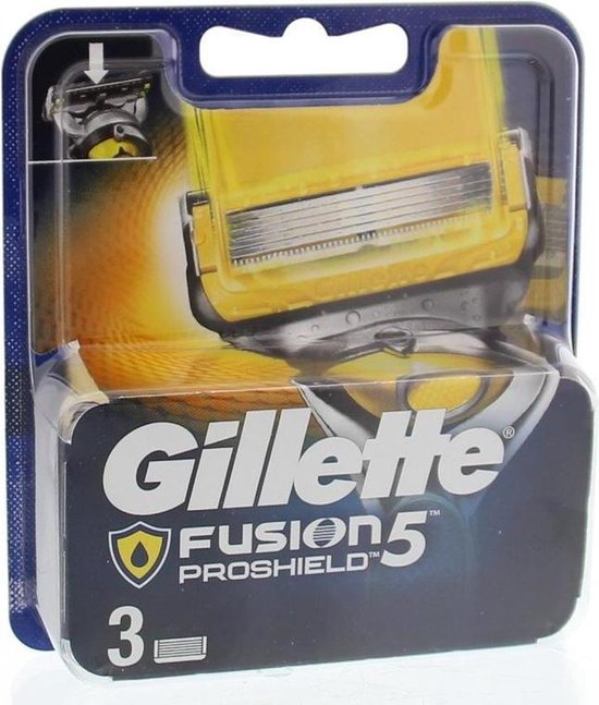 Gillette Fusion5 ProShield Scheermesjes - 3 stuks