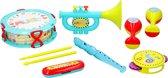 Let's Play Instrumentenset 9-delig voor kinderen