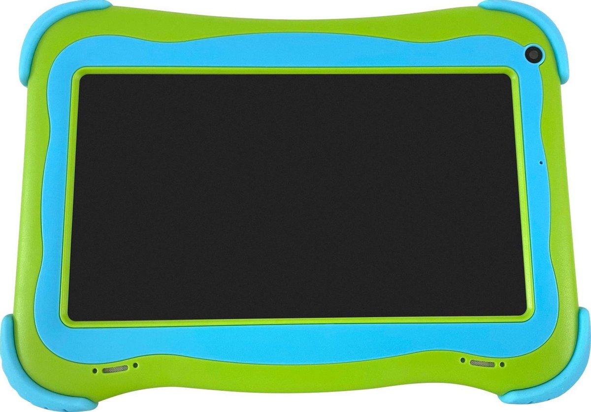 Cammy Kids Tablet Robust – Kindertablet – 16GB – Groen – Inclusief 16GB High-Speed MicroSD + Powerbank