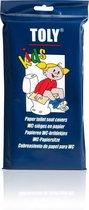 Toly - WC-brildekjes - Kinderen - 30 Stuks - Papier
