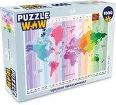 Puzzel 1000 stukjes volwassenen Tijdzone wereldkaart 1000 stukjes - Tijdzone wereldkaart  - PuzzleWow heeft +100000 puzzels